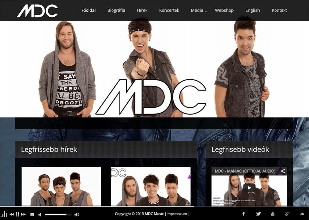 Weboldal készítés- mdc.hu