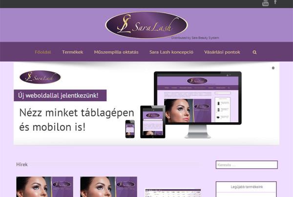 Weboldal készítés- saralash.com