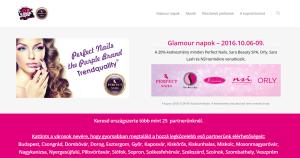 Weboldal készítés - gm.perfectnails.hu