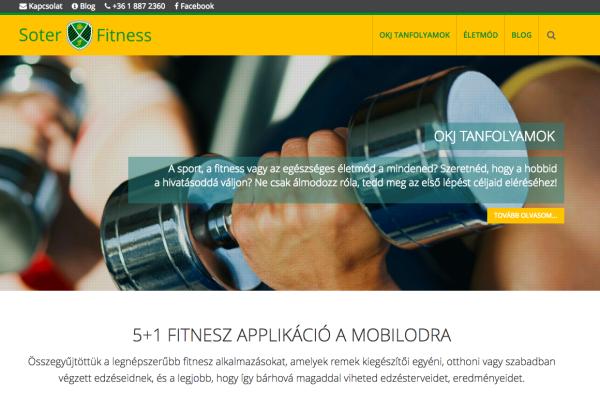 soterfitness-weboldalkeszites
