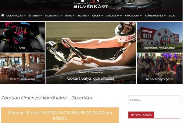 Weboldalkészítés - Silverkart