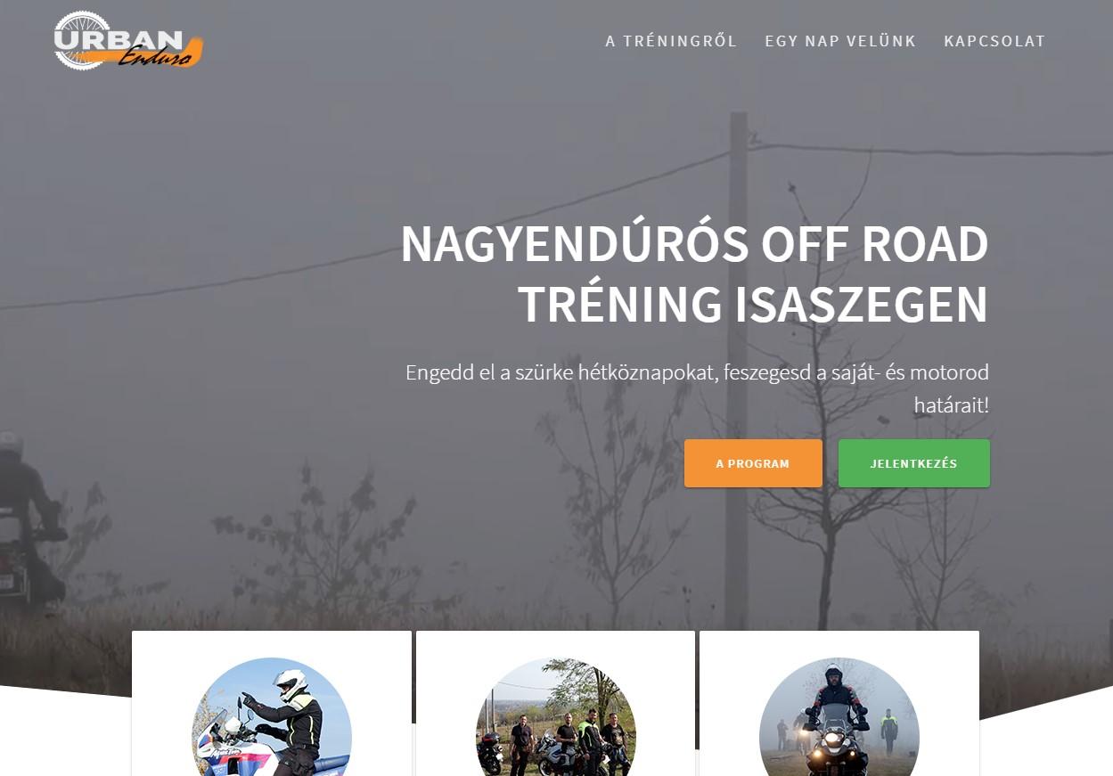 Weboldalkészítés-urbanenduro